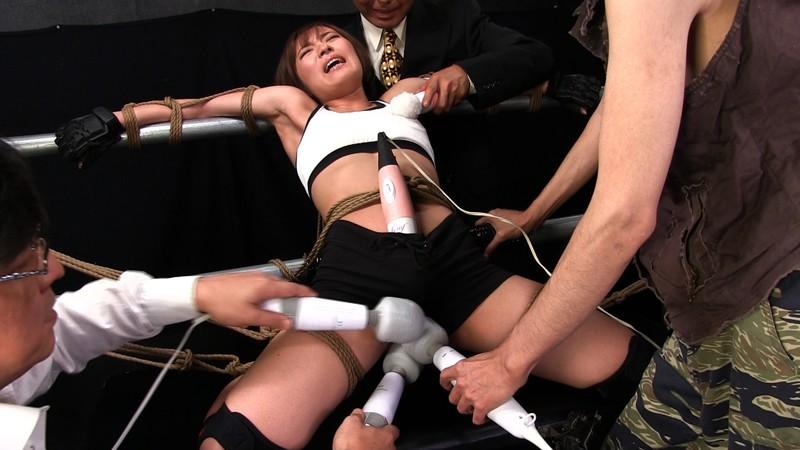 肉体の悪魔 〜残酷なる極天逝〜 Part2 屈強な筋肉を持つ美女格闘家 佐久間恵美 5枚目