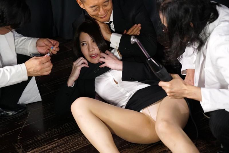 女体発狂痙攣クラゲ・爆天 秘奥まで蹂躙される人体実験に哭く女刑事 本多かおり 4枚目
