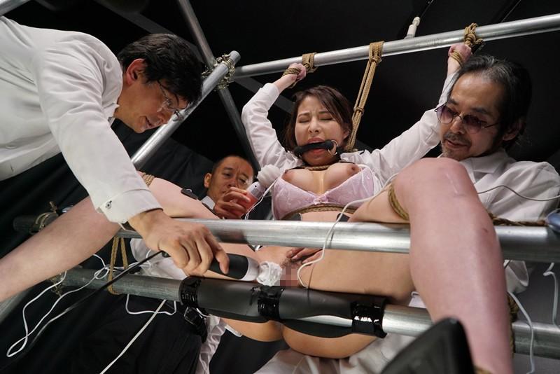 女体発狂痙攣クラゲ・爆天 秘奥まで蹂躙される人体実験に哭く女刑事 本多かおり 7枚目