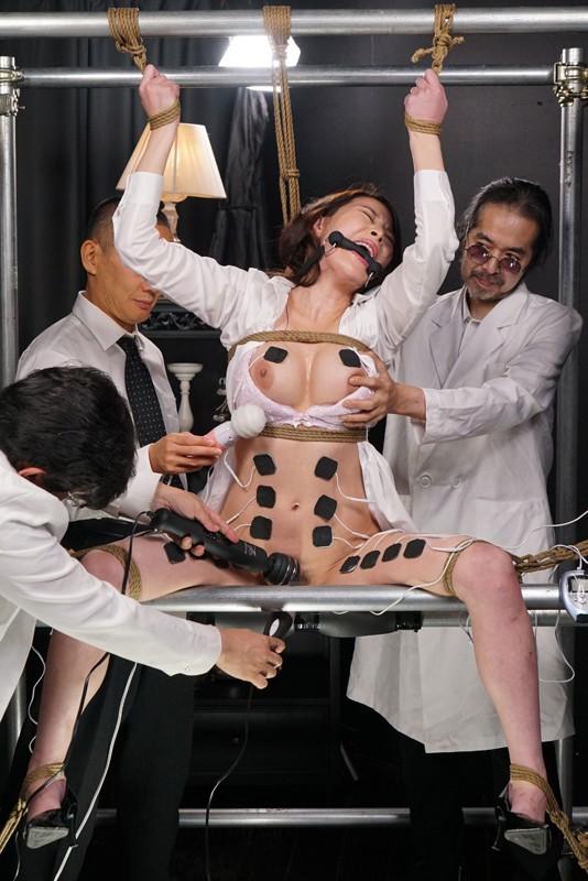 女体発狂痙攣クラゲ・爆天 秘奥まで蹂躙される人体実験に哭く女刑事 本多かおり 8枚目