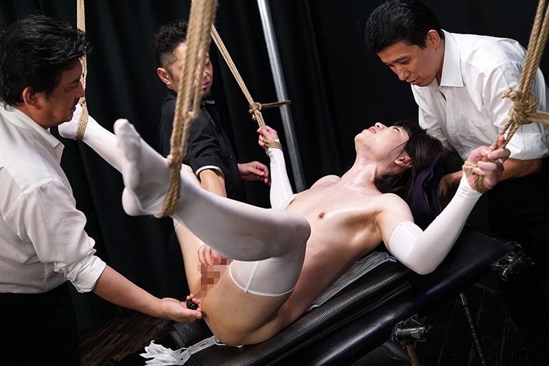 女装子スパイ拷問処刑 媚薬漬け快楽地獄をさまよう哀哭の肛門昇天肉人形 月島なるのサンプル画像