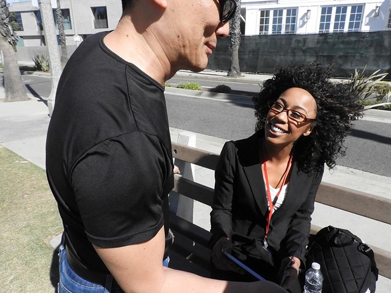 LAで見つけたガチ黒人美女!ドスケベ映像衝撃の試し撮り! 8枚目