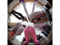 【VR】トップレスで超ミニスカのお姉さん達が、食い込みパンティーを見せつけてくるんです3DVR4