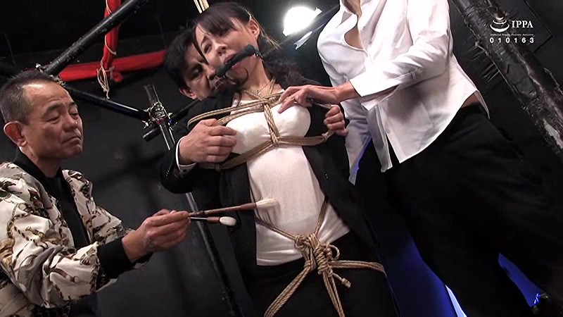 女殺淫縛蟻地獄 第六幕:蕩けるほどに女体は狂い泣く 麗しき人妻特命捜査官、真琴 成宮いろは キャプチャー画像 1枚目