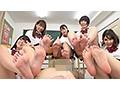 青春足責め学園 蒸れた酸っぱい思春期の香りがする足で、気絶...sample5