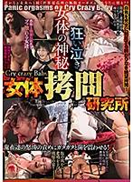 狂い泣き女体の神秘 Cry crazy Baby 女体拷問研究所