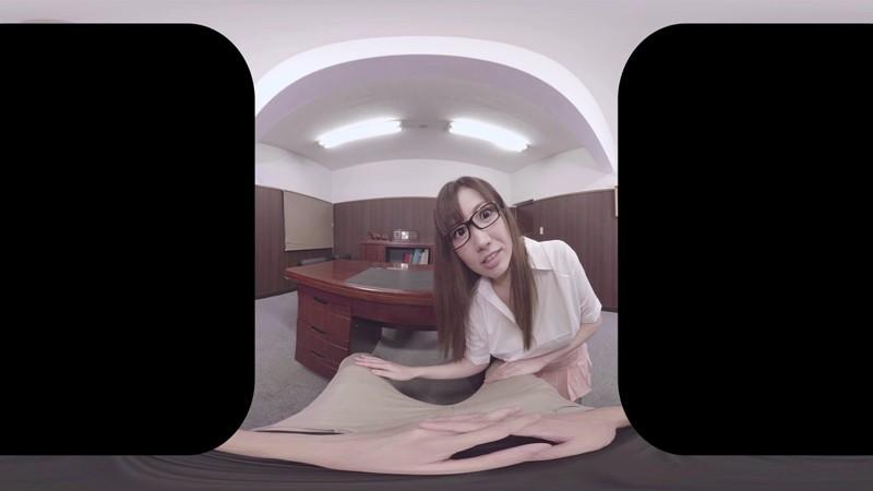 【VR】「クビだけは…」イヤイヤ言いながらも昇天してしまう美人巨乳秘書 調教のあげく快楽墜ち 若槻みづな 1枚目