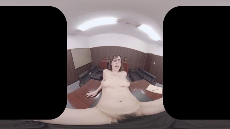 【VR】「クビだけは…」イヤイヤ言いながらも昇天してしまう美人巨乳秘書 調教のあげく快楽墜ち 若槻みづな 8枚目