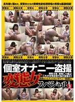個室オナニー盗撮 変態女スペシャル 3 ダウンロード