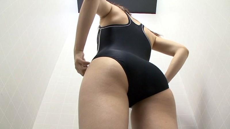 スイミングスクール通いで試着する競泳水着からハミ出る豊満な女体とデカ尻盗撮! 特別編411