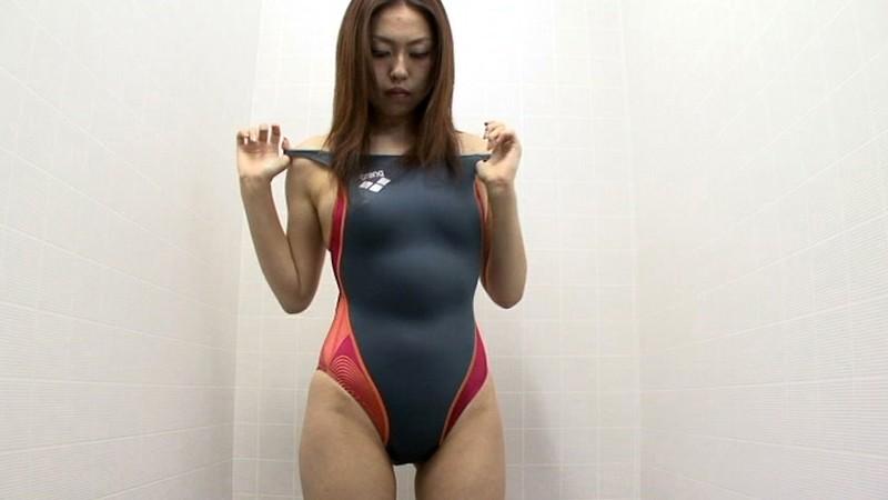 スイミングスクール通いで試着する競泳水着からハミ出る豊満な女体とデカ尻盗撮! 特別編412