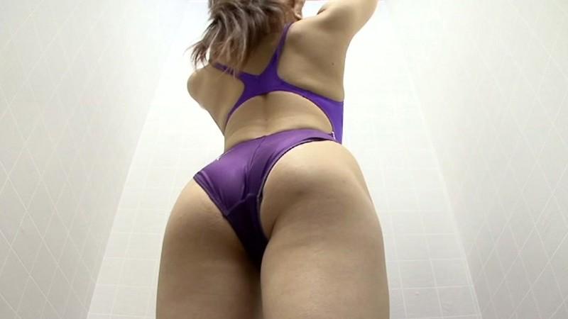 スイミングスクール通いで試着する競泳水着からハミ出る豊満な女体とデカ尻盗撮! 特別編420