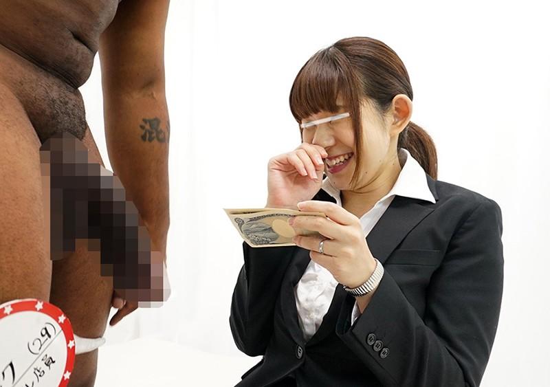 一般黒人男性×人妻OL ち○ぽが大きすぎて困っている日本在住の黒人男性が人妻OLにお悩み相談!旦那の短小ち○ぽとは比べものにならない黒デカち○ぽの登場に恥じらいながらもご無沙汰マ○コは疼きだす!子宮の奥まで届く未体験のガン突きセックスに激イキ合計52回!!