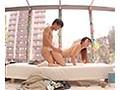 【MM号】「…スゴ…大きい♡♡♡」日焼けがいやらしいライフセーバーのスポーツ女子と中出しの汗だくセックス!(6)