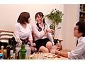 一般男女ドキュメントAV ほろ酔い爆乳女部下たちと宅飲み→逆セクハラ→朝まで中出し(立場逆転)