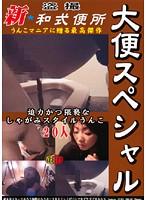 盗撮 新★和式便所 大便スペシャル1 〜うんこマニアに贈る最高傑作!!〜