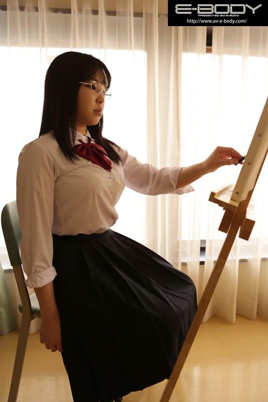 【女子校生】 あの娘のオッパイ揉んだらどんな顔するだろう Case03美術部の隠れ巨乳 水城唯 キャプチャー画像 1枚目