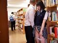 孕ませ図書館痴● 拒否もできず、声も出せずに膣内射精されるがままイキ堕ちた地味で巨乳な女子校生 鈴木心春