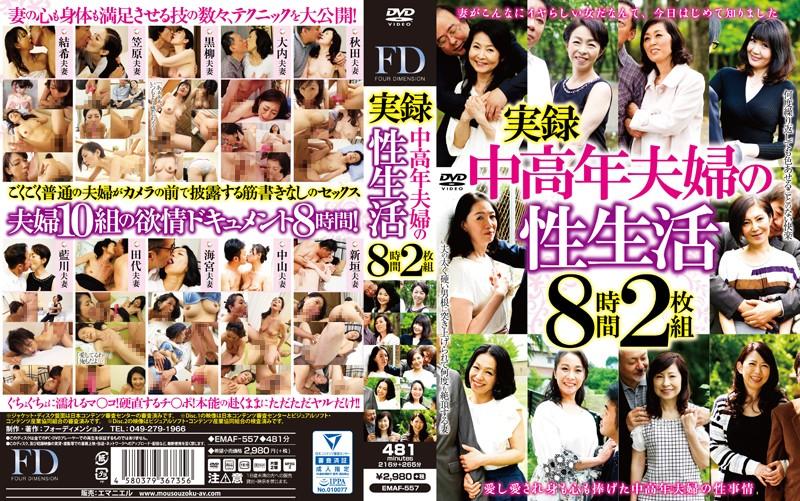 熟女エロ動画「実録中高年夫婦の性生活 8時間2枚組」の無料サンプル画像
