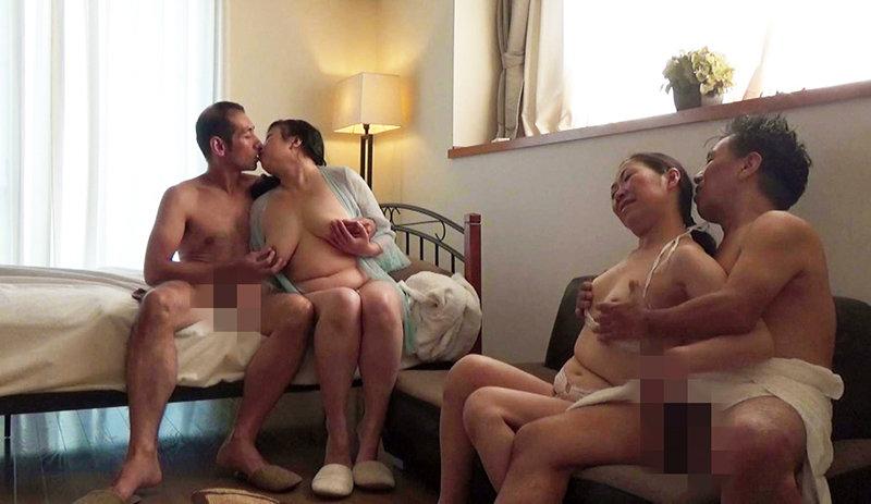 実録・熟年32人の夫婦交換 8時間