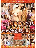 セックスに溺れる高齢熟女20人 巨根でメロメロのババ汁交尾4時間 ダウンロード