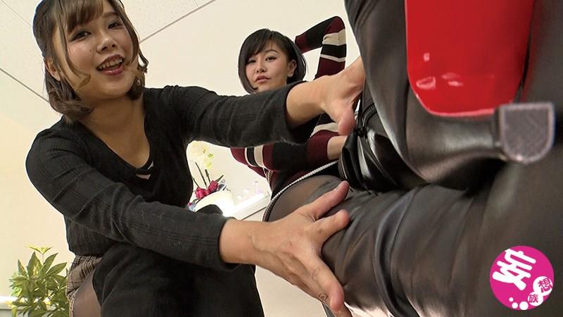 ロングブーツ蒸れ蒸れパンスト匂い嗅ぎ脚舐めレズ 2のサンプル画像