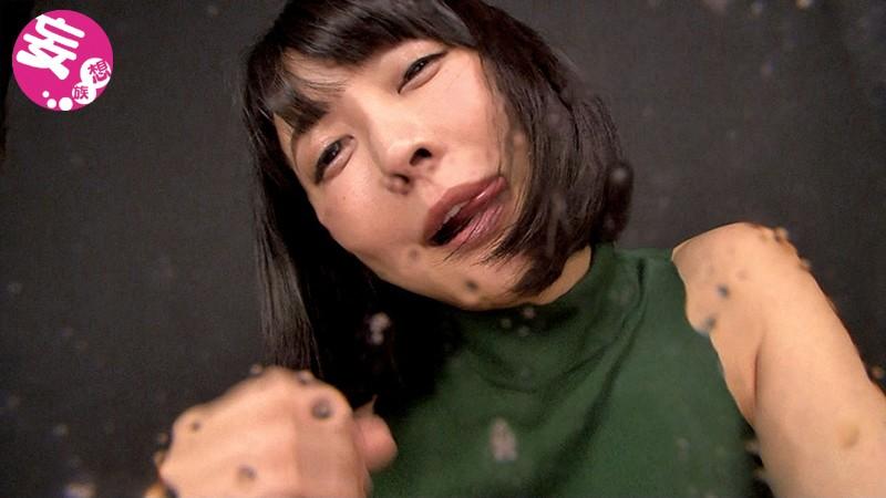 バーチャル映像で口臭吐き掛けられ、大量に唾も掛けられたいのサンプル画像
