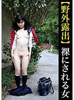 【野外露出】裸にされる女 ダウンロード