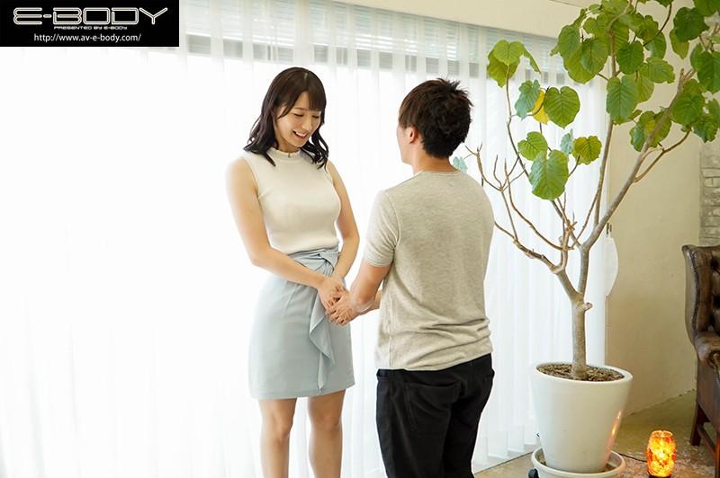 清楚に見えて日本一エロい人妻。長身172cmスーパープロポーションGカップけいさん34歳E-BODYデビュー 画像1