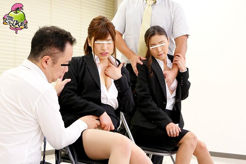 2018年度ぐりーんあっぷる新卒採用面接。 就職試験中にセクハラ行為を促され、すべて受け入れSEXまでした新入社員エリート候補生のうち厳選5名を勝手にAV販売。 キャプチャー画像 6枚目