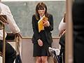 誰もが憧れる超絶美人の先生が授業中にリモコンバイブで大量...sample11