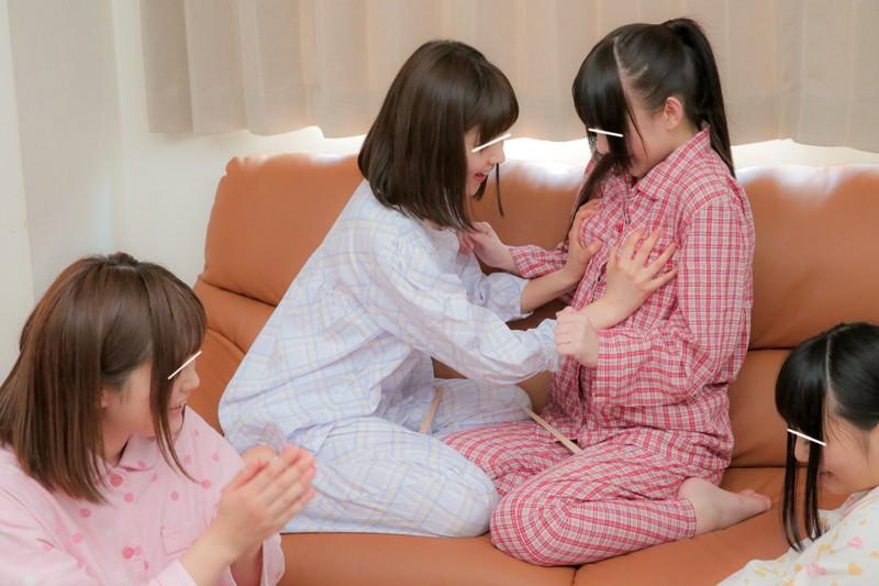 妹&妹の友達のパジャマパーティーで「王様ゲームを教えて欲しい」と言われ実際にやったら命令はどんどんエスカレート!とんでもなくHな事しちゃいました 無料エロ画像6