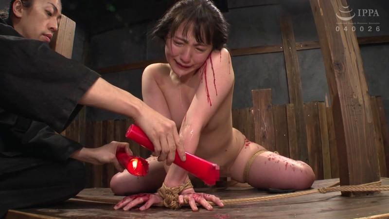 制服少女 串刺し拷問 河奈亜依 画像9