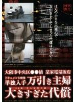 大阪市中央区●●橋某家電量販店 万引き主婦 大きすぎた代償 ダウンロード