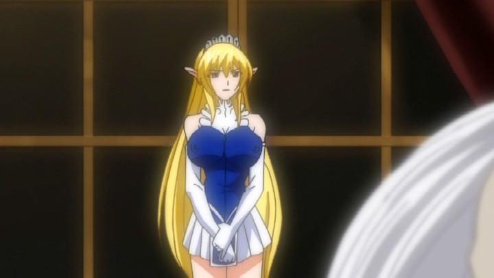 エルフ姫ニィーナ Vol.02 触手スーツの娼婦姫1