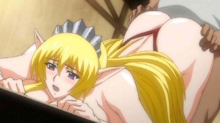 エルフ姫ニィーナ Vol.02 触手スーツの娼婦姫17