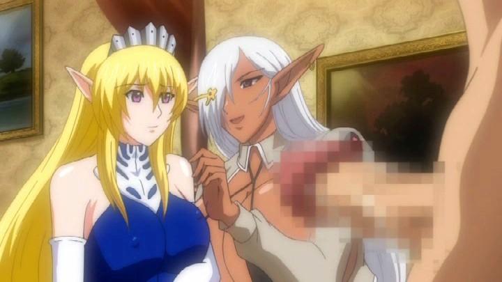 エルフ姫ニィーナ Vol.02 触手スーツの娼婦姫4