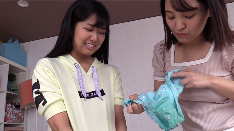 おむゆり 仲よし2人の尊いオムツ女子会 #01 菜々と澪の濡れたパンツと紙オムツ 画像7