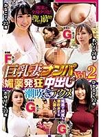 巨乳妻ナンパ中出し 媚薬発狂潮吹きアクメ Vol.2