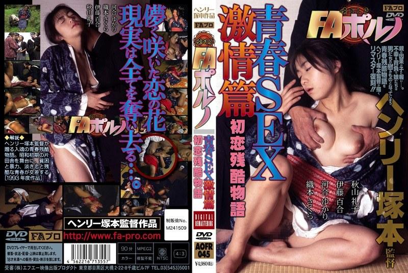 懐かしきFAポルノ 青春SEX激情篇 初恋残酷物語 パッケージ