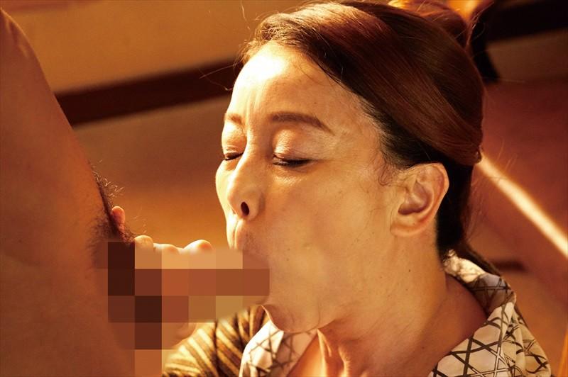 五十路温泉近親相姦物語 露天風呂で淫らに交わる禁断の母子交尾 画像6