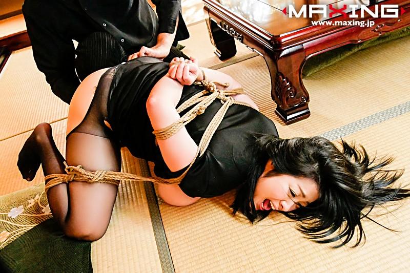小向美奈子「緊縛奴隷…