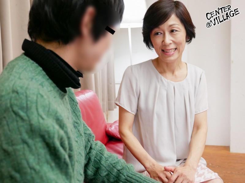 「初めてがおばさんと生じゃいやかしら?」童貞くんが人妻熟女と最高の筆下ろし性交 堀美也子 キャプチャー画像 5枚目