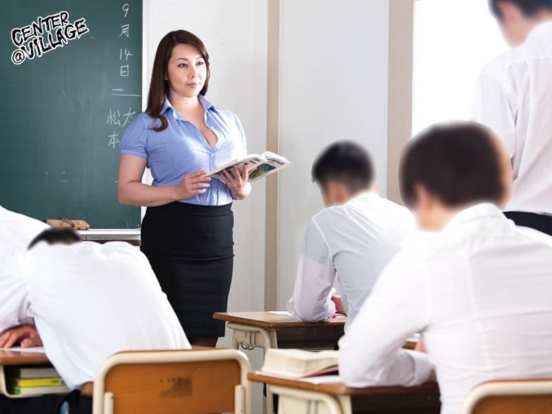 声が出せない絶頂授業で10倍濡れる人妻教師 風間ゆみ