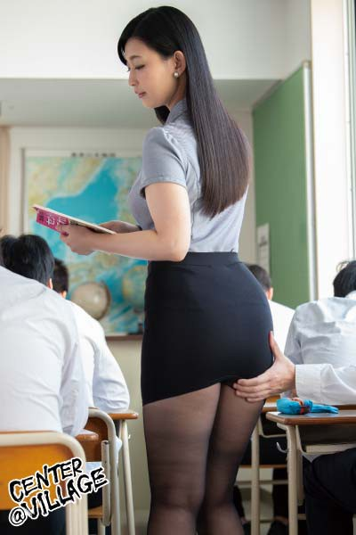 IQQQ-010 Studio Center Village - This Married Woman Teacher Is Unable To Make A Sound While Orgasming In Class And That Gets Her 10 Times Wetter Than Usual Toko Namiki big image 6