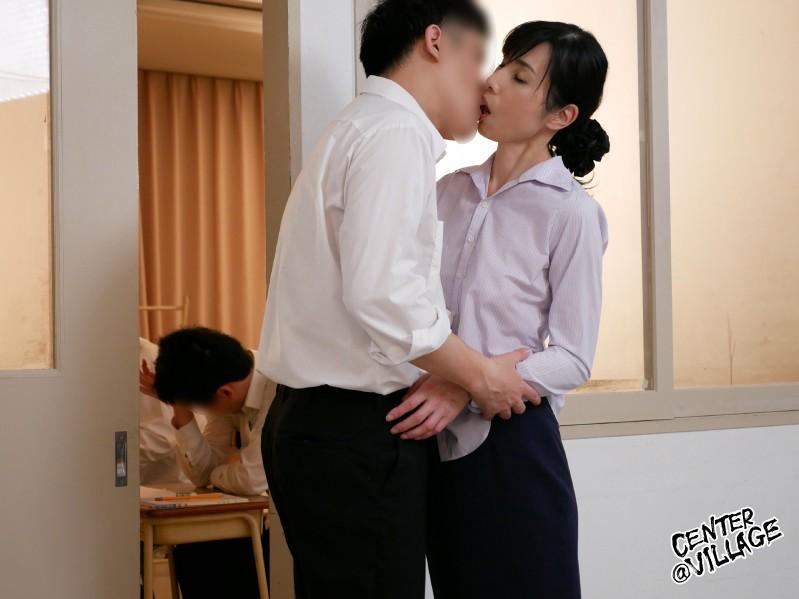声が出せない絶頂授業で10倍濡れる人妻教師 鶴川牧子9