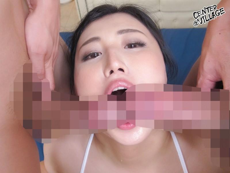 旦那に内緒で初撮りAVデビュー マシュマロ美巨尻人妻・栗生しほ 39歳 8枚目