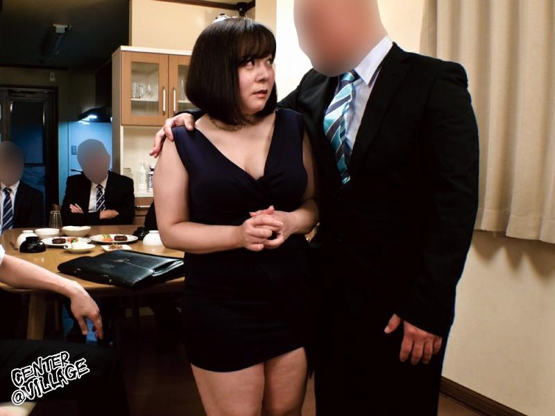 ぶっかけ人妻 上司のむっちり妻を集団ザーメン弄び 牧村彩香 画像1