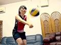 体育系大学に通う現役バレーボール選手!デカ尻変態ドM美少女sample3