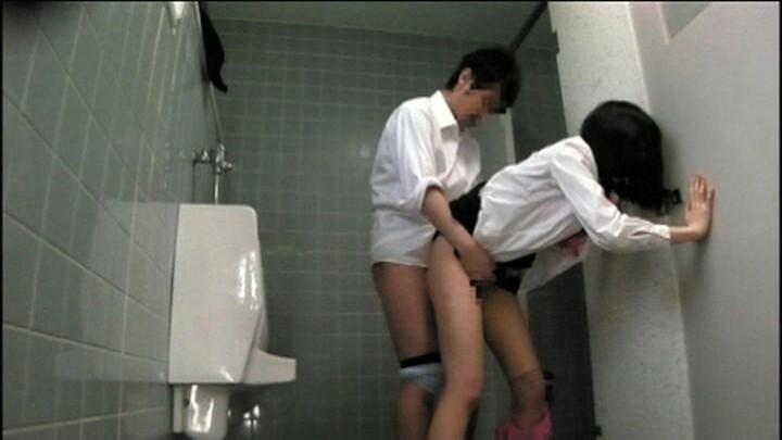 トイレ内SEX映像 キャプチャー画像 10枚目